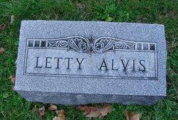 Letty <i>Lanning</i> Alvis
