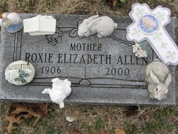 Roxie Elizabeth Allen