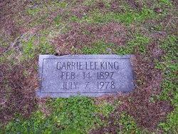 Carrie Lee <i>Slater</i> King