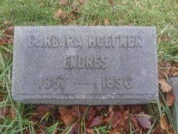 Barbara <i>Hoefner</i> Endres