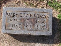 Mary <i>Dozier</i> Davis