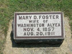 Mary Della <i>Foster</i> Alyea
