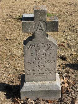 Annie Eliza <i>Hendry</i> Acy