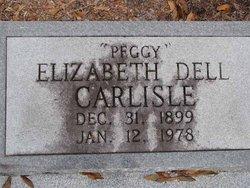 Elizabeth Dell Peggy <i>Hart</i> Carlisle