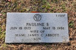 Pauline Jo <i>Sizemore</i> Abbott
