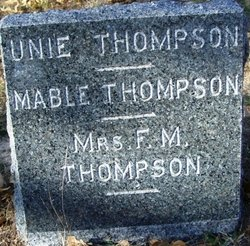Mrs F. M. Thompson