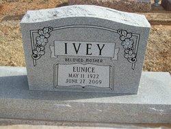 Eunice Louise <i>Cochran</i> Adkins Ivey