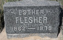 Mariah Esther <i>Palmer</i> Flesher