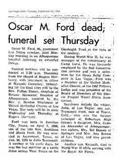 Oscar Monroe Ford