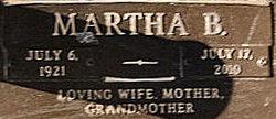 Martha <i>Bonnette</i> Birt