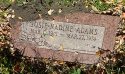 Josie Nadine <i>Key</i> Adams