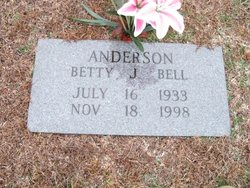 Betty Jean <i>Bell</i> Anderson