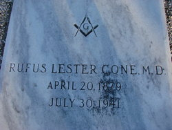 Rufus Lester Cone