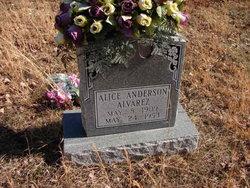 Alice Mandy <i>Anderson</i> Alvarez