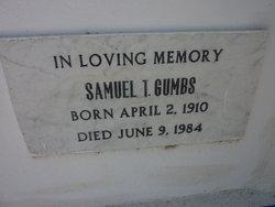 Samuel T Gumbs