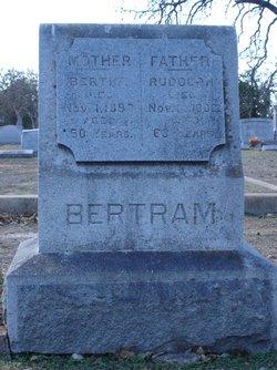 Bertha Marie Charlotte <i>Krohn</i> Bertram