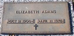 Elizabeth <i>Quisenberry</i> Adams