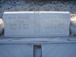 John Grimes Jones