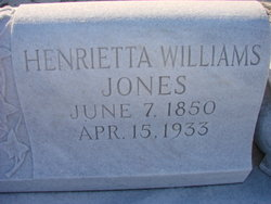 Henrietta Haseltine <i>Williams</i> Jones