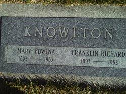 Mary Edwina <i>Whitesides</i> Knowlton