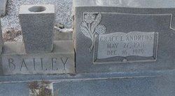 Grace E <i>Andrews</i> Bailey