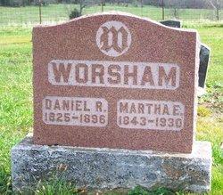 Martha Elizabeth <i>Norman</i> Worsham