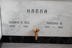 Thomas A. Hanna