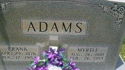 Myrtle <i>Farthing</i> Adams