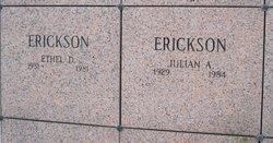 Ethel Darlene <i>Fosdal</i> Erickson