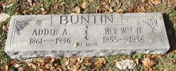 Mrs Addie Augusta <i>Shipman</i> Buntin