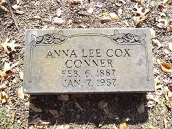 Mrs Anna Lee <i>Cox</i> Conner