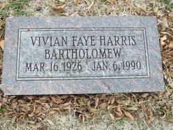 Vivian Faye <i>Harris</i> Bartholomew