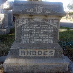 Cora <i>Rhodes</i> Moore