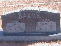 Mary Francis <i>Jordan</i> Baker