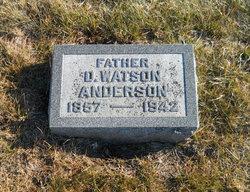 D Watson Anderson