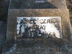 Alice <i>Serra</i> Gray