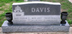 Daisy <i>Granger</i> Davis
