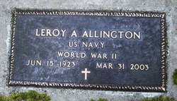 Leroy Albert Allington
