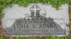 Lydia V Adams