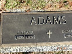 J Frank Adams