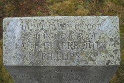 Faith <i>Clarke</i> Doty Phillips