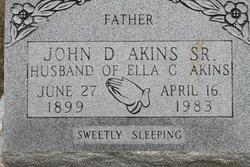 John D Akins, Sr