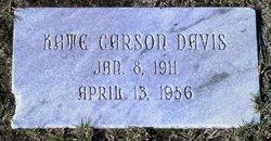 Kate Zelda <i>Carson</i> Davis