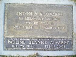 Pauline J Alvarez