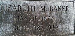 Elizabeth M. <i>Sutter</i> Baker