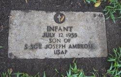 Infant Son Ambrose