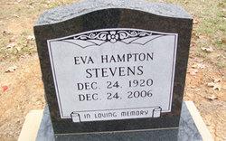 Eva <i>Thomas</i> Hampton Stevens
