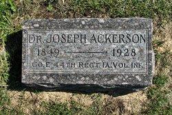 Dr Joseph Ackerson