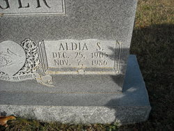Aldia <i>Shelton</i> Crigger
