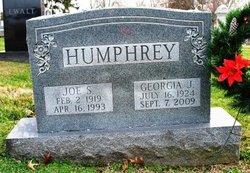 Georgia Jeanette <i>Henry</i> Humphrey